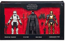 "Load image into Gallery viewer, Star Wars Black Series First Order 6"" Figure 4-Pack"