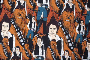 Star Wars Han Solo and Chewbacca AOP T-Shirt