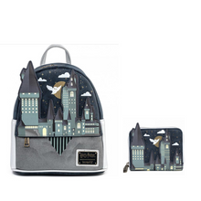 Load image into Gallery viewer, Loungefly Harry Potter Hogwarts Castle Bundle (Wallet and Backpack)