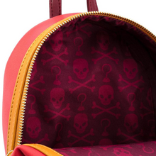 Load image into Gallery viewer, Loungefly Disney Captain Hook Cosplay Mini Backpack Inside View