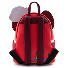 Load image into Gallery viewer, Loungefly Disney Captain Hook Cosplay Mini Backpack Back View
