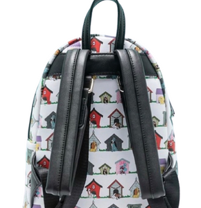 Loungefly Disney Doghouses All Over Print Mini Backpack