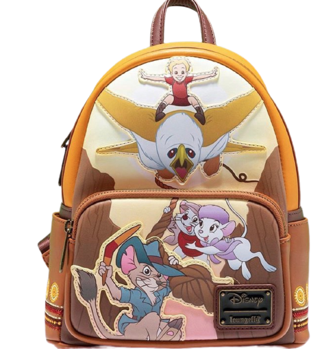 Loungefly Disney Rescuers Down Under Mini Backpack Front