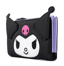 Load image into Gallery viewer, Loungefly Sanrio Kuromi Cosplay Wallet Side