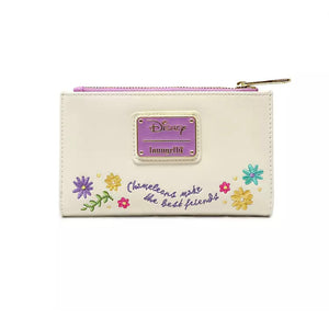 Loungefly Disney Pascal Flower Wallet Back