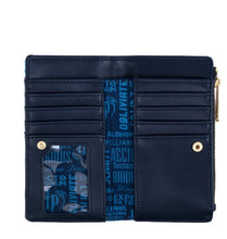 Load image into Gallery viewer, Loungefly Harry Potter Expecto Patronum All Over Print Flap Wallet Inner View