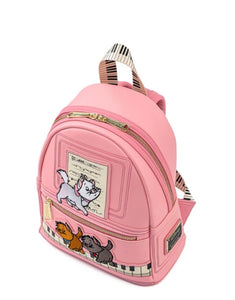 Loungefly Disney Aristocats Piano Kitties Mini Backpack Top