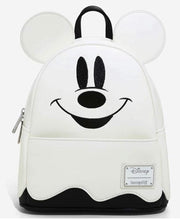 Load image into Gallery viewer, Loungefly Disney Mickey Ghost Mini Backpack - GLOWS IN THE DARK