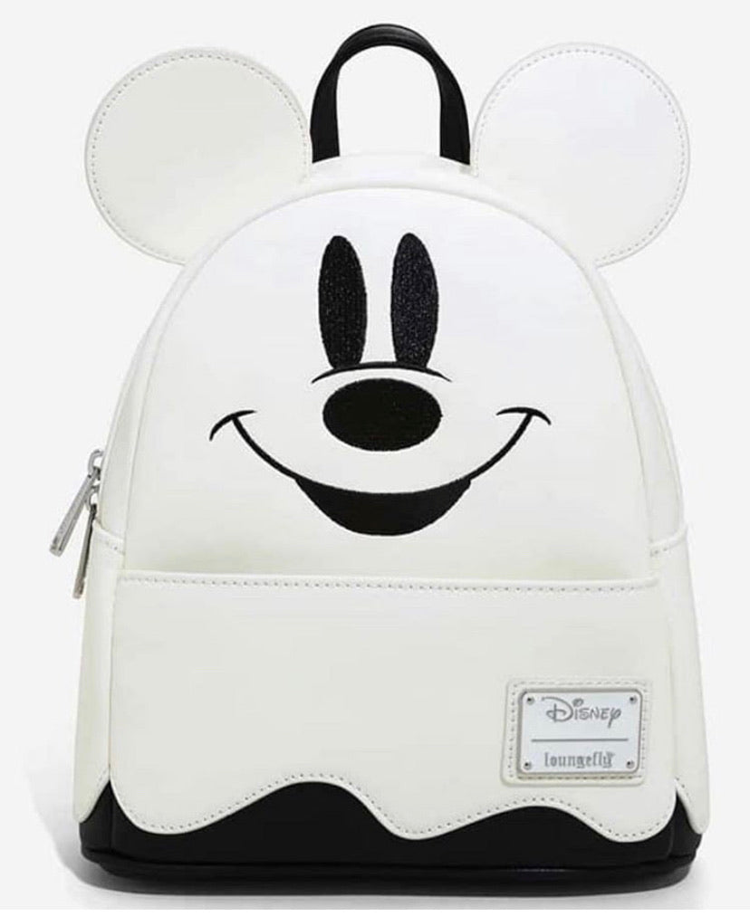 Loungefly Disney Mickey Ghost Mini Backpack - GLOWS IN THE DARK