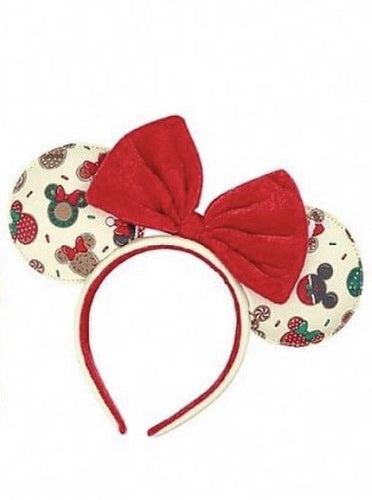 Loungefly Disney Christmas Mickey and Minnie Cookie Ears