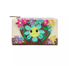 Load image into Gallery viewer, Loungefly Disney Pascal Flower Wallet front