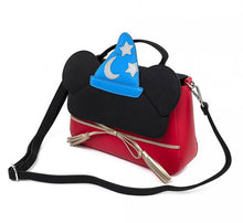 Load image into Gallery viewer, Loungefly Disney Sorcererer Mickey Cosplay Crossbody side