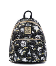 Load image into Gallery viewer, Loungefly Disney Nightmare Before Christmas Tarot Card All Over Print Mini Backpack