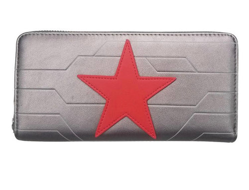 Loungefly Marvel Winter Soldier Cosplay Wallet Front