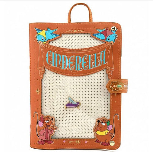 Loungefly Disney Cinderella Pin Trader Backpack includes Pin - Pre-Order January