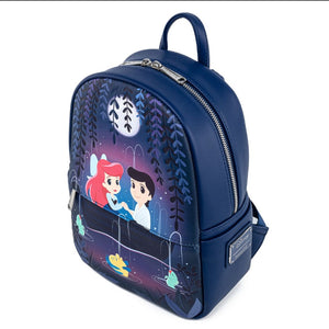 Loungefly Disney The Little Mermaid Gondola Scene Mini Backpack