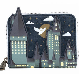 Loungefly Harry Potter Hogwarts Castle Wallet Front