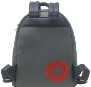 Loungefly Marvel Winter Soldier Cosplay Backpack Back