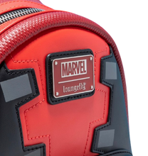Load image into Gallery viewer, Loungefly Marvel Deadpool Merc With A Mouth Mini Backpack Plaque