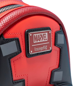 Loungefly Marvel Deadpool Merc With A Mouth Mini Backpack Plaque