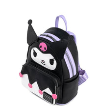 Load image into Gallery viewer, Loungefly Sanrio Kuromi Cosplay Mini Backpack top