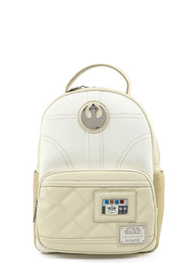 Star Wars Princess Leia Hoth Cosplay Mini Backpack Front
