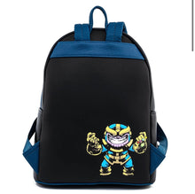Load image into Gallery viewer, Loungefly Marvel Skottie Young Chibi Group Mini Backpack