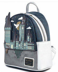Harry Potter Hogwarts Castle Mini Backpack Side