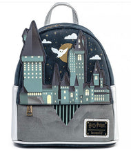 Load image into Gallery viewer, Harry Potter Hogwarts Castle Mini Backpack Front