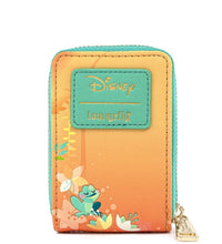 Load image into Gallery viewer, Loungefly Disney Princess and the Frog Tiana Accordion Wallet Back