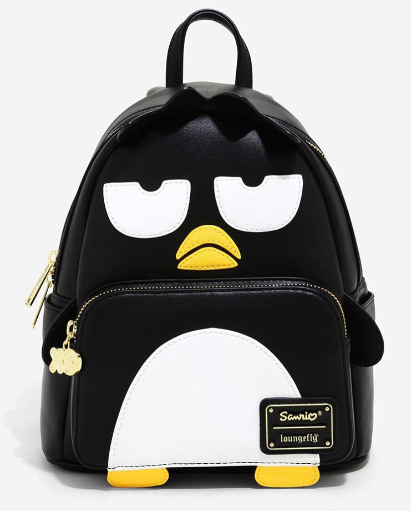 Loungefly Sanrio Badtz-Maru Mini Backpack Front View