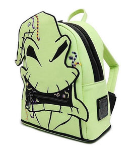 Loungefly Disney Nightmare Before Christmas Oogie Boogie Creepy Crawlies Mini Backpack Side View