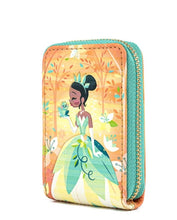 Load image into Gallery viewer, Loungefly Disney Princess and the Frog Tiana Accordion Wallet side