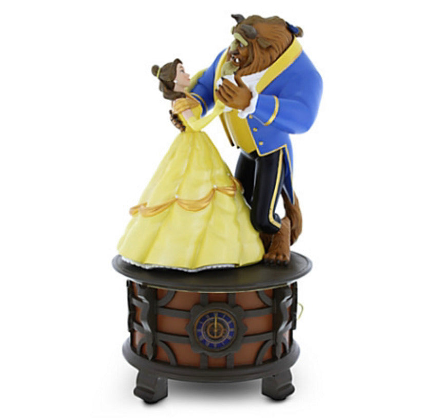 Disney Parks Beauty And The Beast Musical Figurine - Belle and Beast