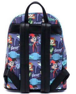 Loungefly Ladies of DC AOP Mini Backpack