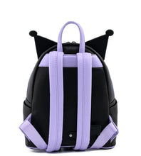 Load image into Gallery viewer, Loungefly Sanrio Kuromi Cosplay Mini Backpack Back