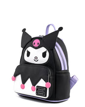 Load image into Gallery viewer, Loungefly Sanrio Kuromi Cosplay Mini Backpack Side