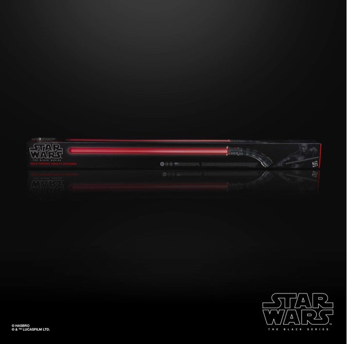 Star Wars Force FX Black Series Asajj Ventress Lightsaber