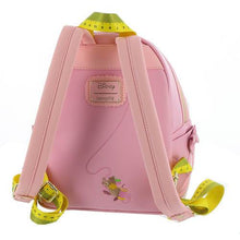 Load image into Gallery viewer, Loungefly Disney Princess Cinderella Pink Dress Mini Backpack Back