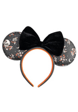 Load image into Gallery viewer, Loungefly Disney Mickey Minnie Halloween Vamp Witch AOP Headband Front