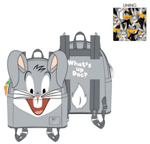 Load image into Gallery viewer, Loungefly Looney Tunes Bugs Bunny Cosplay Mini Backpack Front