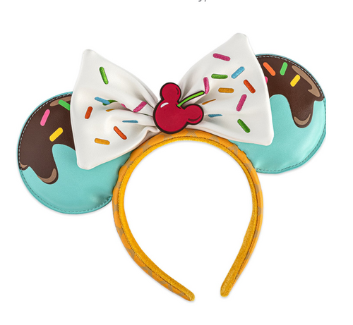 Loungefly Mickey and Minnie Sweet Treats Headband Ears