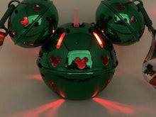 Load image into Gallery viewer, 2020 Christmas Holiday Green Mickey Mouse Jingle Bell Light Up Sipper