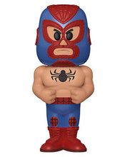 Load image into Gallery viewer, Funko Vinyl SODA: Luchadores- Spider-Man w/Chase (Metallic) - Pre-Order March