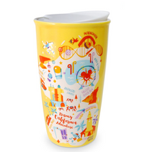 Load image into Gallery viewer, Disney Parks California Adventure Park Starbucks 2021 Ceramic Travel Tumbler