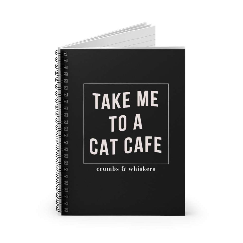 Take me to a cat cafe | Notebook
