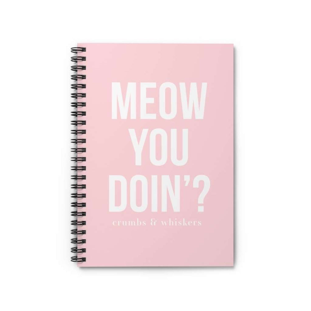 Meow You Doin'? | Notebook