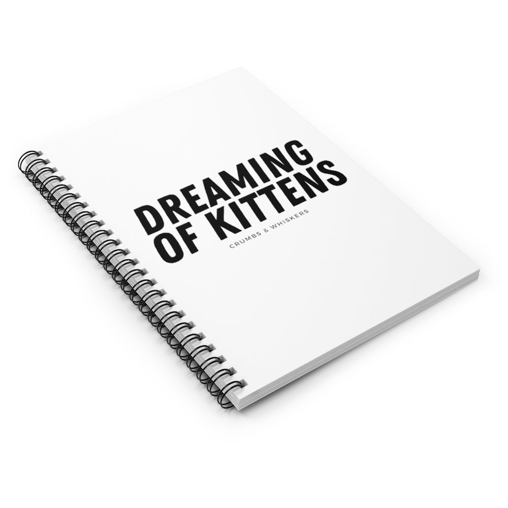 Dreaming of Kittens (Bold) | Notebook