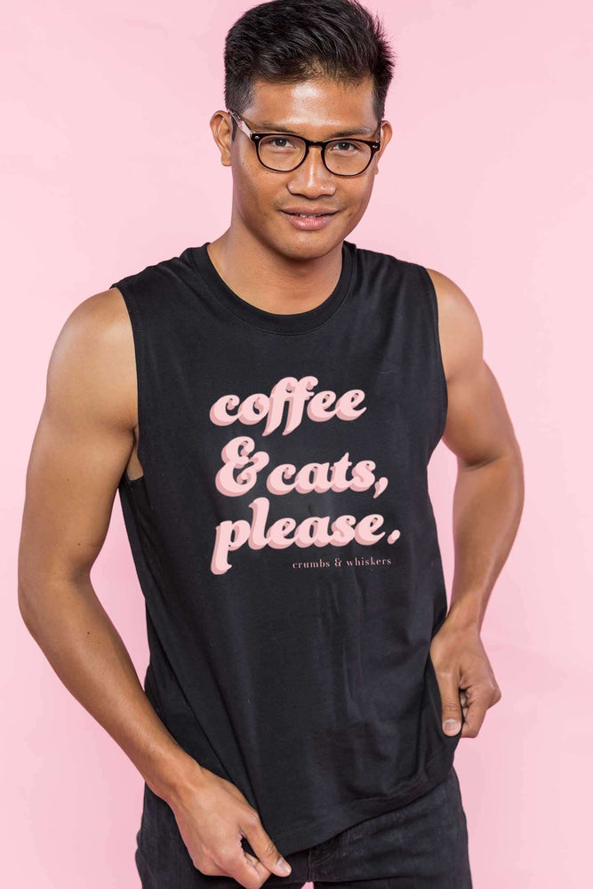 Coffee & Cats (Pink Bubble) | Bro Tank