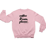 Coffee & Cats (Black Bubble) | Crewneck